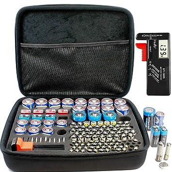Amazon.com: RIGICASE - Estuche organizador de batería ...
