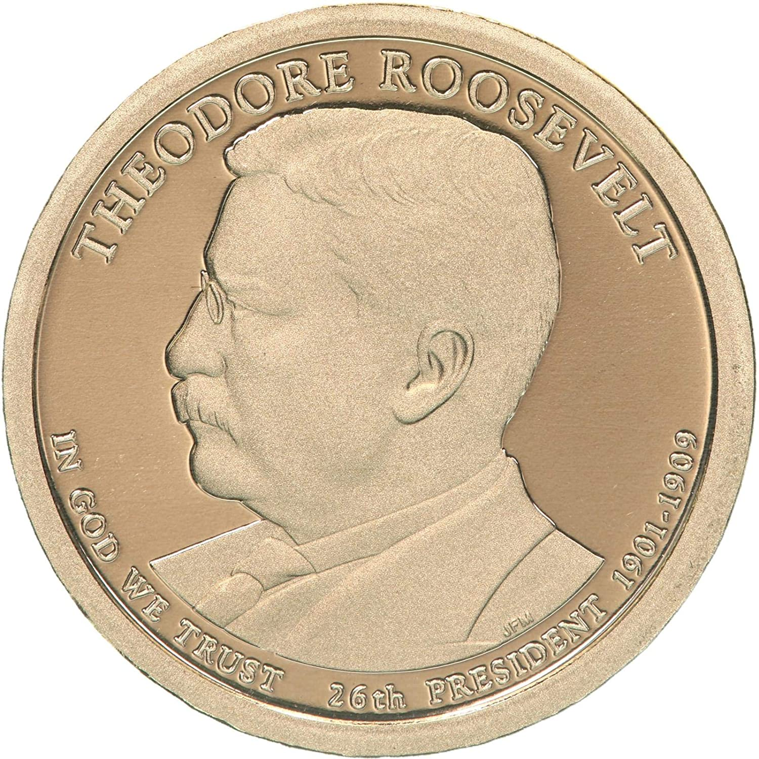 2013 P Theodore Roosevelt Presidential Dollar ~ Pos A ~ U.S Coin from Mint Set