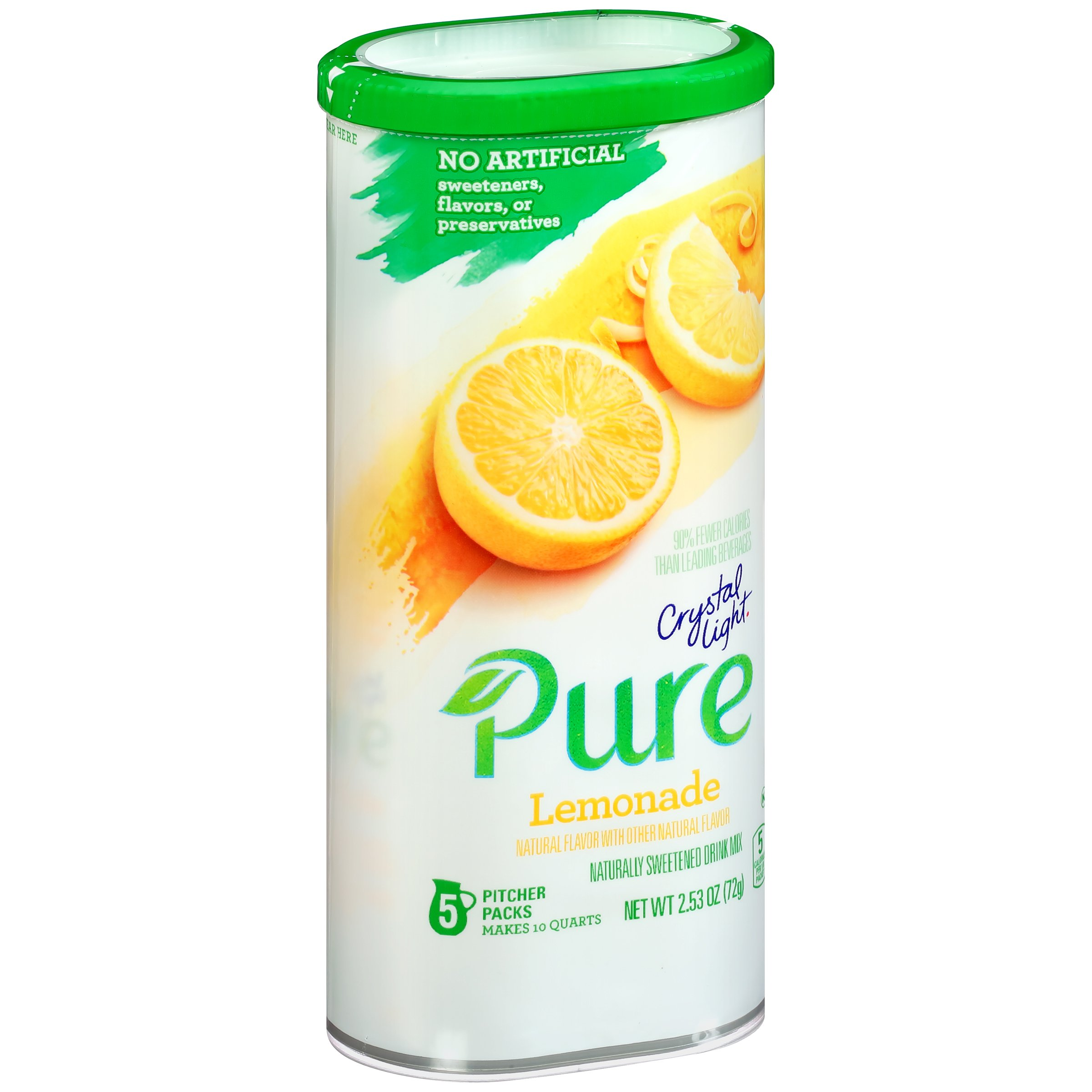 Amazon Com Crystal Light Pure On The Go Drink Mix