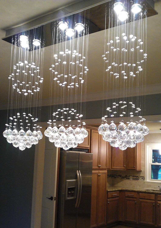 Noxarte luxury contemporary modern island crystal raindrop