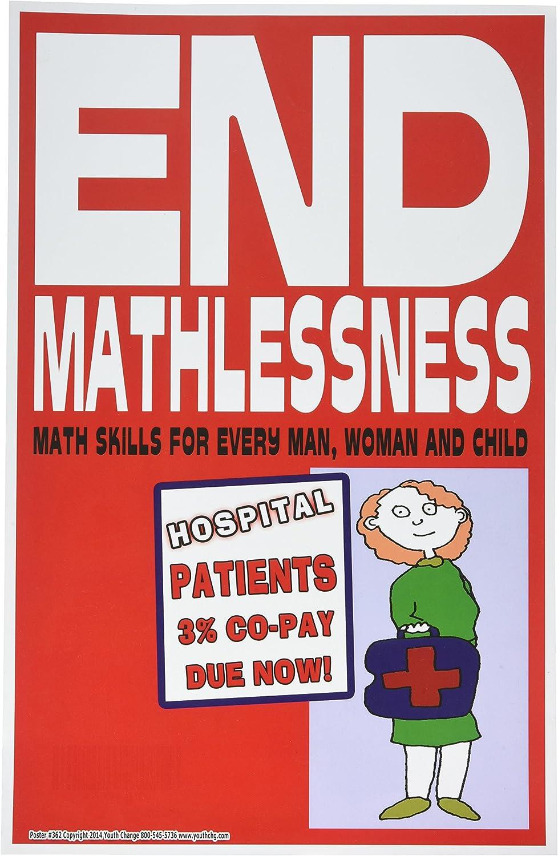 Poster #362 Motivate Math Students End Mathlessness Motivational Poster