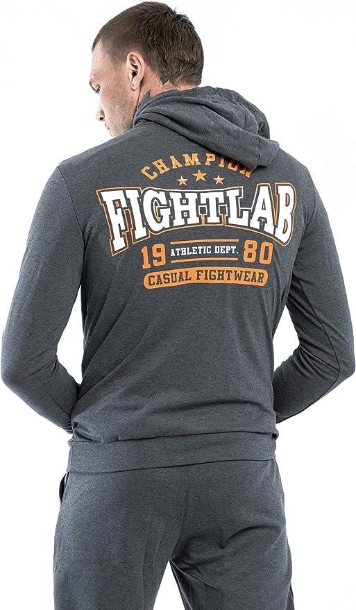 Fightlab Muay Thai MMA K1 Champion - Chándal con Capucha: Amazon ...