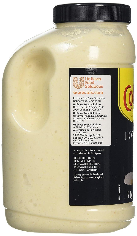 Colman's Horseradish Sauce, 2 25 Litre
