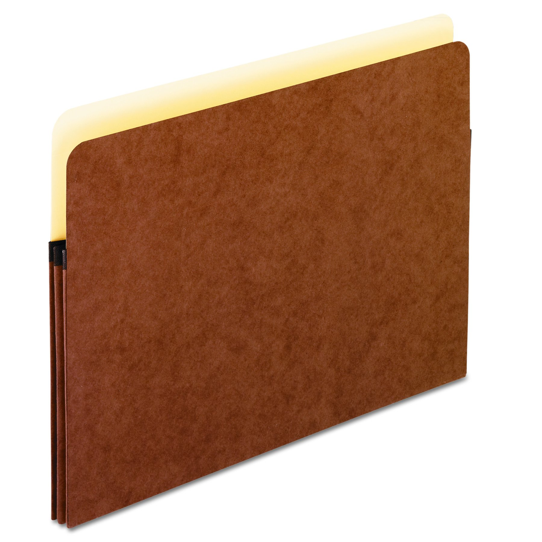 Pendaflex File Pockets, 1.75 Inch Expansion, Brown, Letter, 25 per box (1514C-OX)