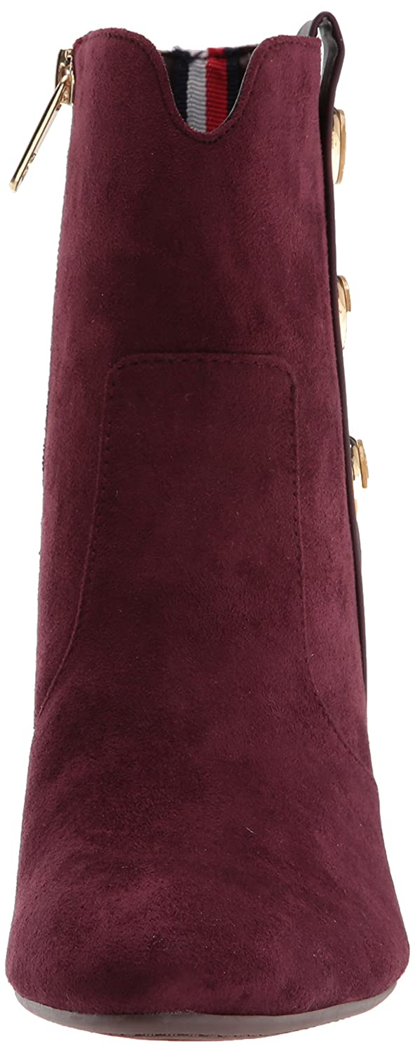 Tommy Hilfiger Women's Domain B(M) Ankle Boot B06ZZSB46R 5.5 B(M) Domain US|Burgundy 1fafc7