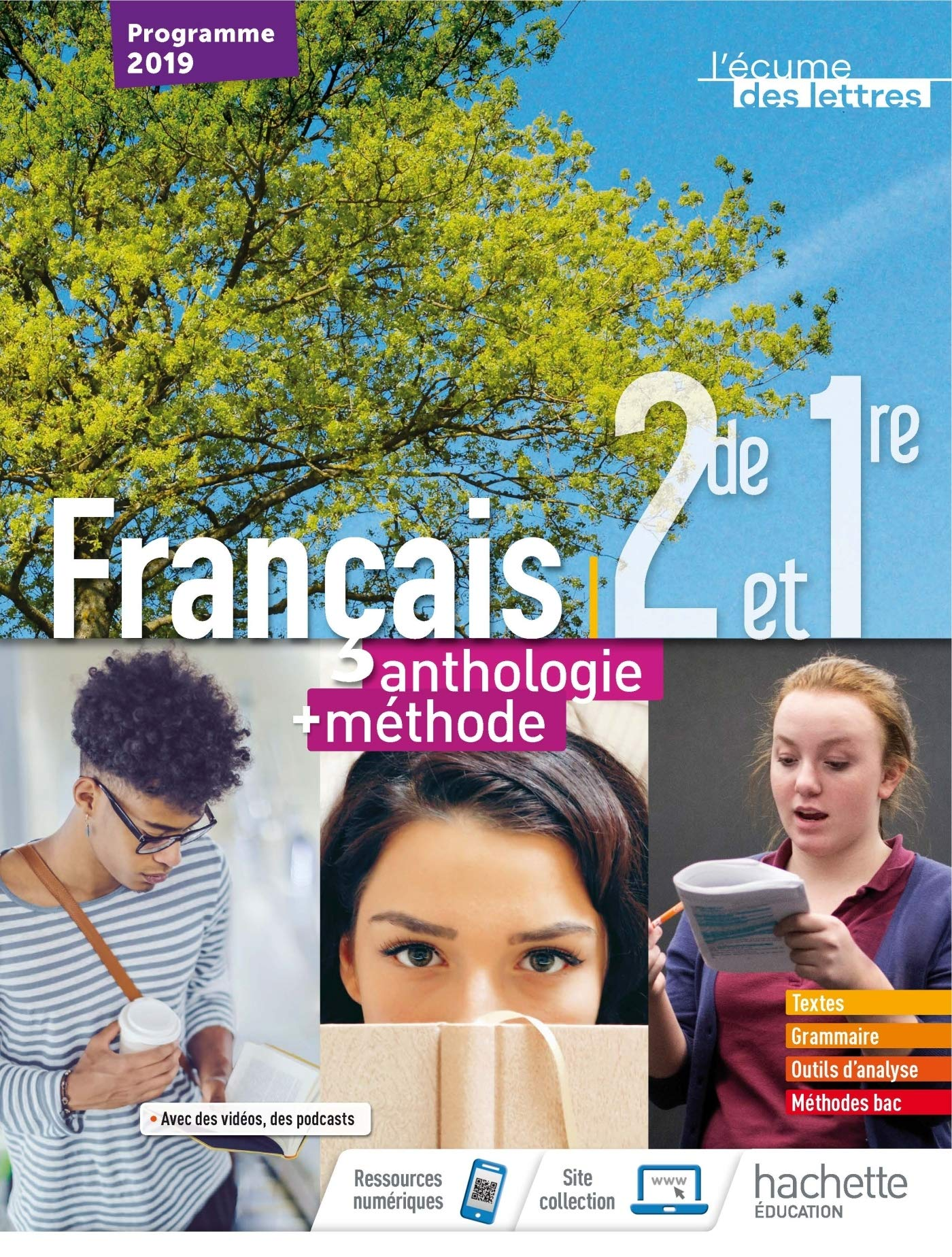 Francais 2nd 1er L Ecume Des Lettres Anthologie Methodes
