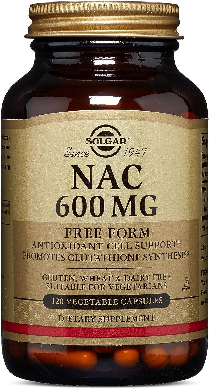 Solgar – NAC 600 mg, 120 Vegetable Capsules: Health & Personal Care