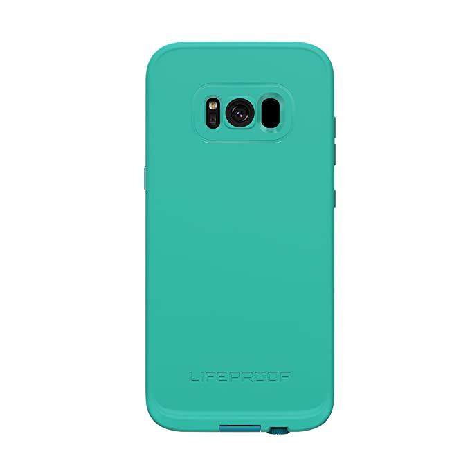 on sale b4f1e 60a95 Lifeproof FRĒ SERIES Waterproof Case for Samsung Galaxy S8 (ONLY) - Retail  Packaging - SUNSET BAY (LIGHT TEAL/MAUI BLUE/MANGO TANGO)