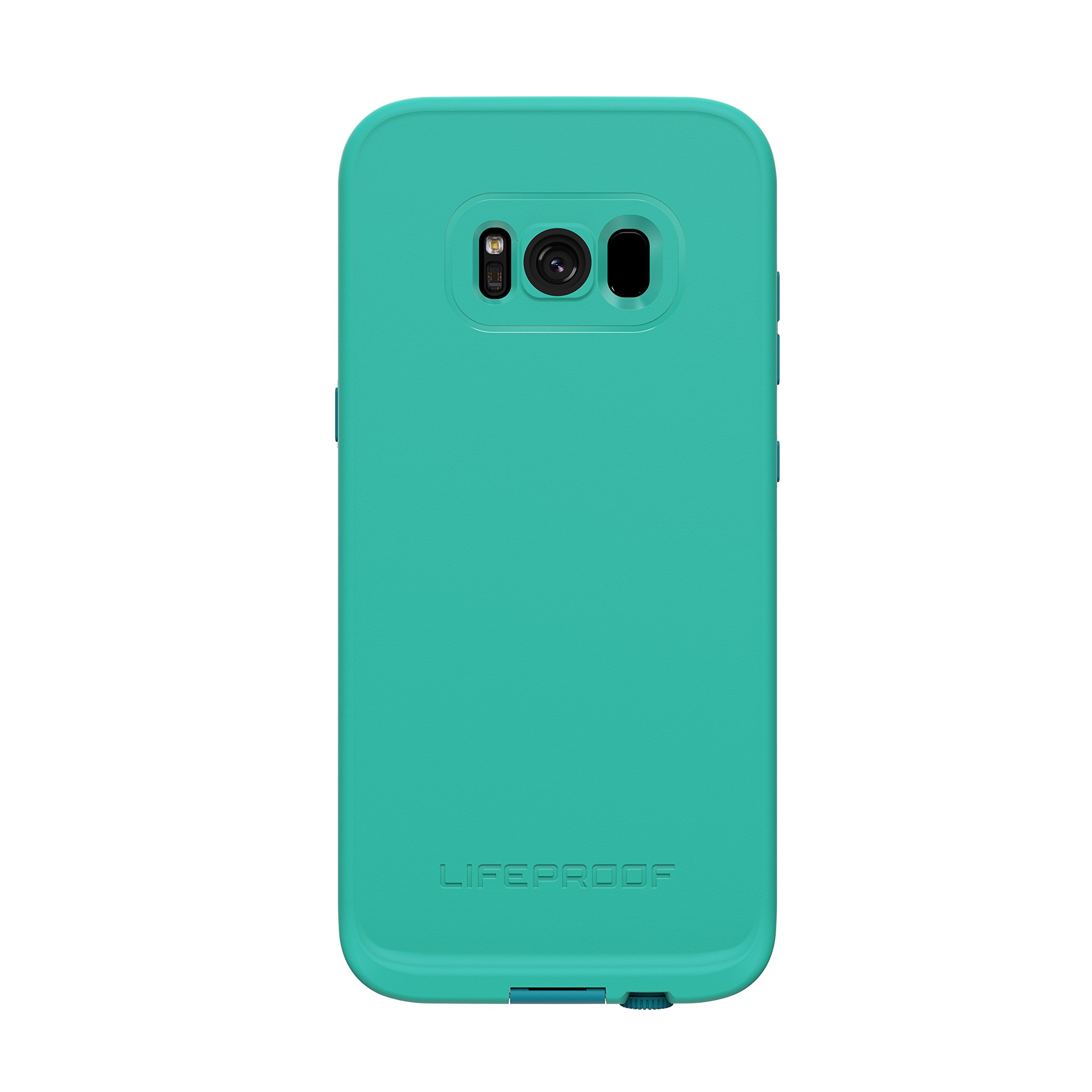 Lifeproof FRĒ SERIES Waterproof Case for Samsung Galaxy S8 (ONLY) - Retail Packaging - SUNSET BAY (LIGHT TEAL/MAUI BLUE/MANGO TANGO)