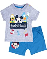 Disney Mickey Babies Ensemble Tee-shirt+short - gris