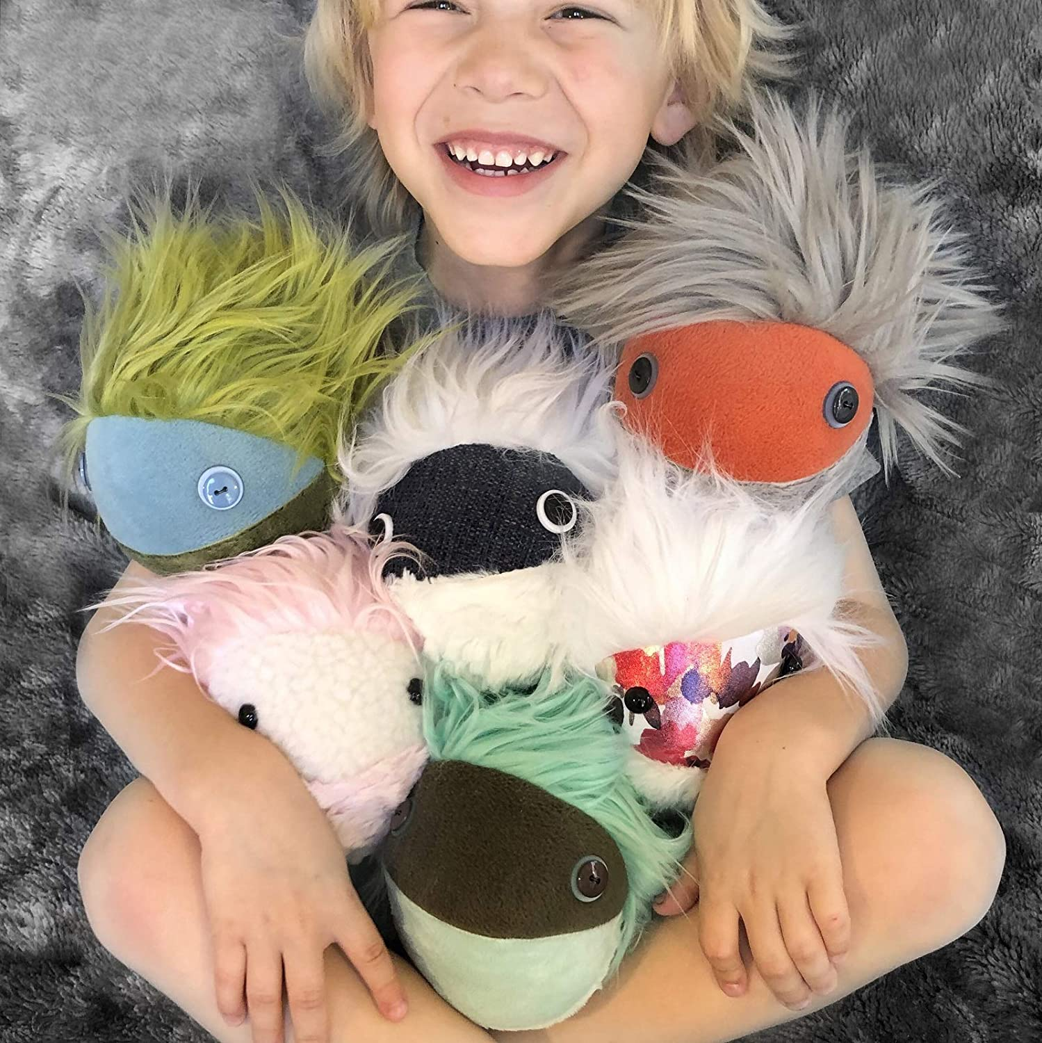Mimbleball |The Cuddly Comforting Companion Plush Therapy Ball for Young and Old