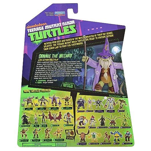 Compañeros de juego Tortugas Ninja - Donatello brujo (12 cm ...