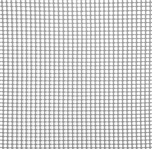 Rete Plastica Per Giardino.Rama Rete Quadra Da Giardino 5mm In Plastica 0 5x30m Mirror Grigio