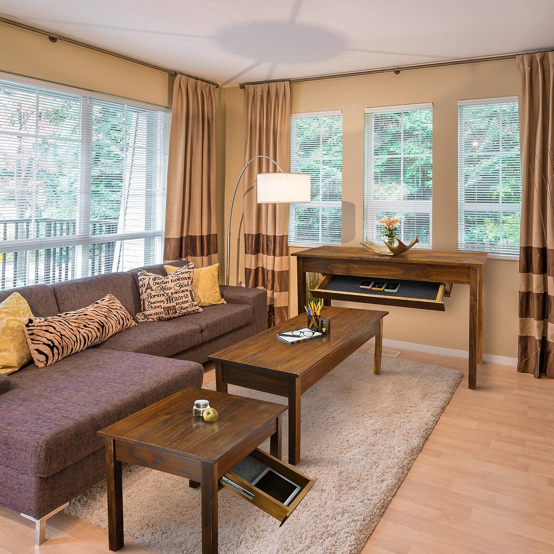 Amazon.com: Casual Home Kennedy cajón de mesa final, muebles ...