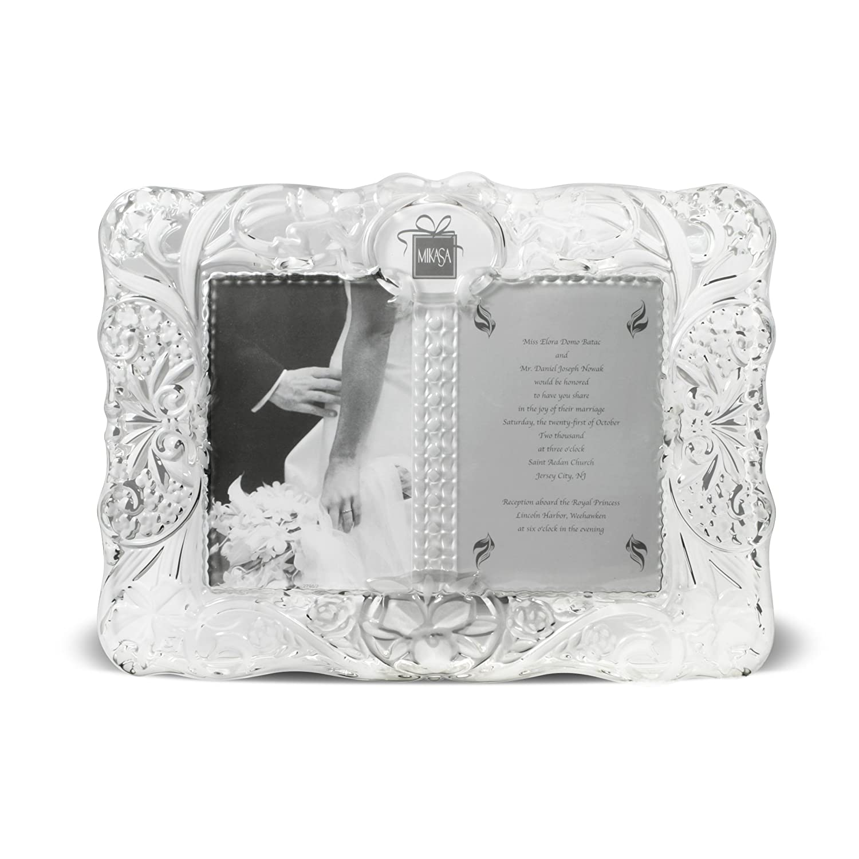 Amazon.com - Mikasa Cherished Moments Crystal Frame - Luxury Frames
