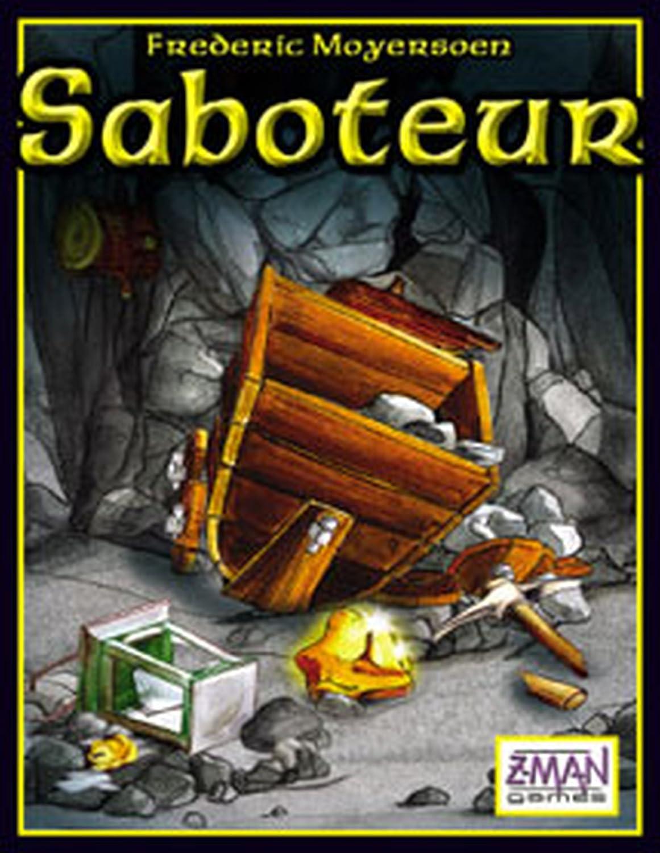 Saboteur Path Laying Card Game Amazon Toys Games