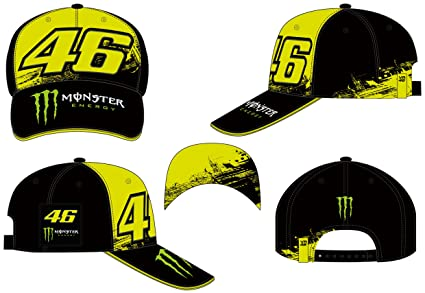 VR46 Gorra béisbol Valentino Rossi Monster Replica Monza: Amazon ...