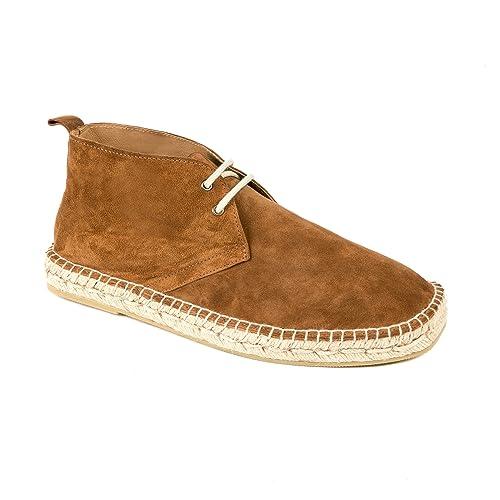 weltenmann | Alpargatas Botines Premium para Hombre en Serraje: Amazon.es: Zapatos y complementos