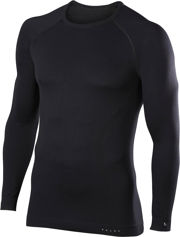 FALKE Herren Langarmshirt Maximum Warm Long Sleeve Comfort Fit