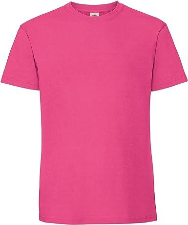 Fruit of the Loom - Camiseta de algodón Ringspun para Hombre: Amazon.es: Ropa y accesorios