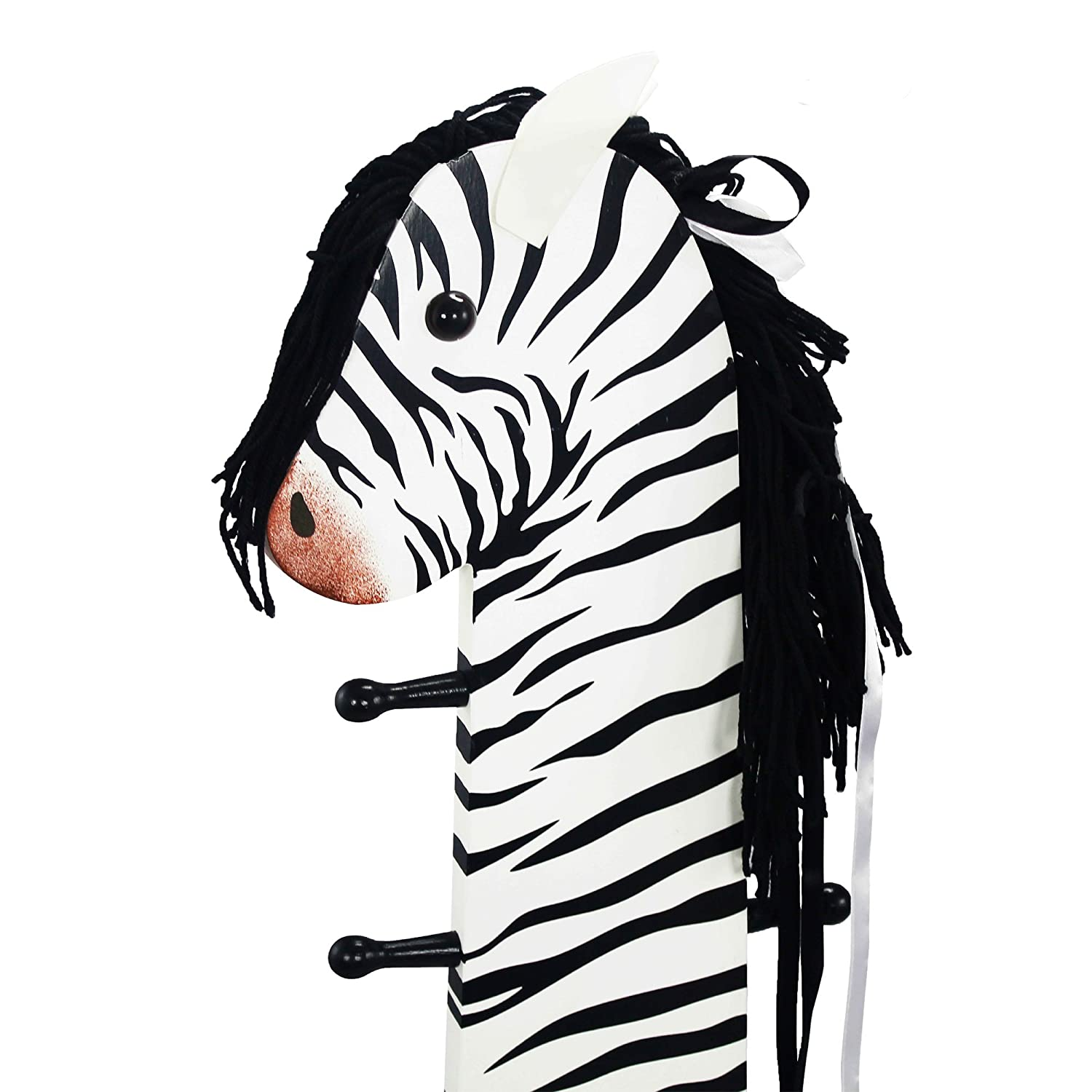 Amazon.com: Teamson Kids   Safari Stool With Coat Rack   Zebra: Toys U0026 Games Design Ideas