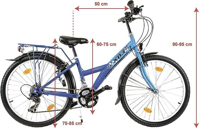 XB3 24 Pulgadas Bicicleta Dinamo LED 25 Lux Luz de posición 21 ...
