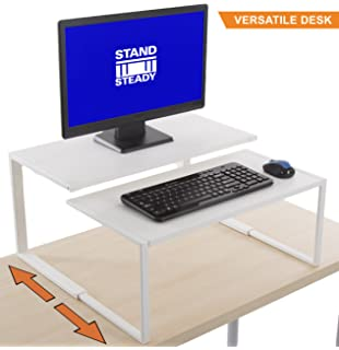 The Original Adapt A Desk By Stand Steady | 2 Piece Interchangeable Desk |
