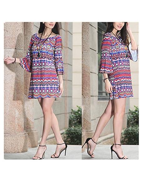 Robin Santiago Summer Fashion Vestidos De Festa Bohemian Women Dress Print Beach Vintage Sexy Female Party