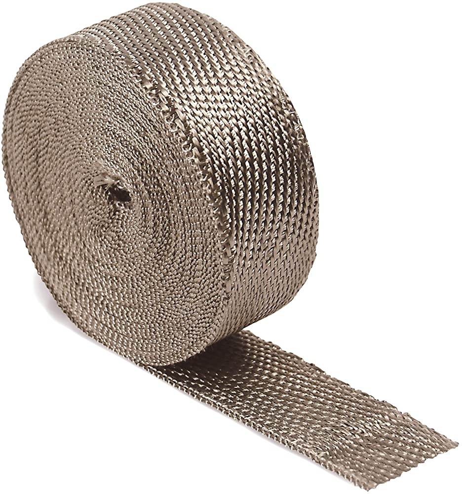 "DEI 010127 Titanium Exhaust Heat Wrap with LR Technology, 2"" x 50' Roll"