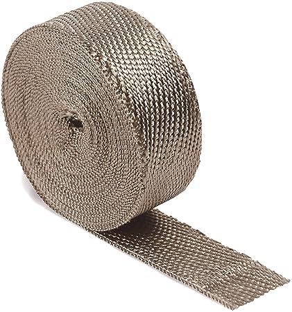 Exhaust Heat Wrap >> Amazon Com Dei 010127 Titanium Exhaust Heat Wrap With Lr Technology