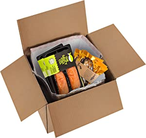 Thermal Box Liners 8x8x8 Metalized Box Liners 8 x 8 x 8 by Amiff. Pack of 10 Insulated Box Liners. Food Grade. Gusseted Bottom. Adhesive Strip. Mailing, Shipping, Packing, Packaging, Moving.