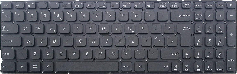 WishingDeals portátil teclado para ASUS K541 K541u k541ua ...