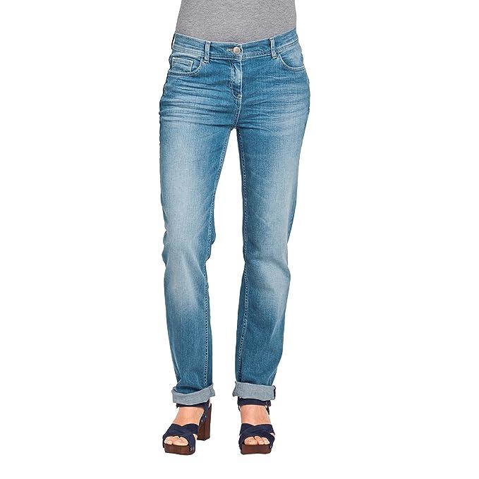 183bcba6aaa4 Cecil, Toronto, Damen Jeans Hose, Stretchdenim, Blue Used, W 33 L 30 ...