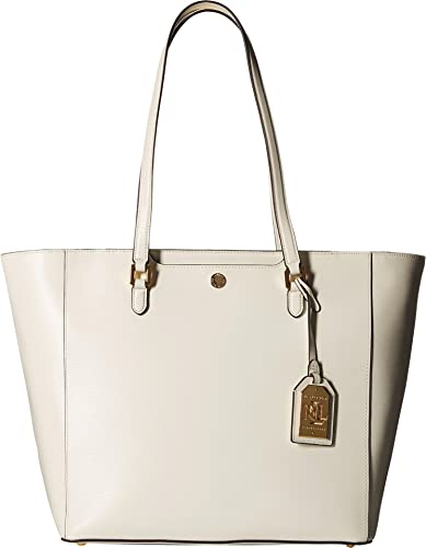 5d5c859967f Image Unavailable. Image not available for. Color  LAUREN Ralph Lauren  Women s Newbury Halee Tote Vanilla One Size