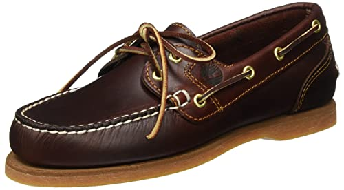 Timberland Classic FTW Amherst 2 Eye Boat, Mocasines para Mujer: Amazon.es: Zapatos y complementos