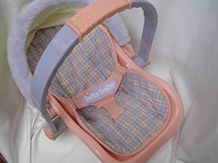 Bitty Baby Doll Car Seat Furniture Retired 18quot Collectible