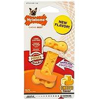 Nylabone DuraChew Cheese Bone, Dog Bone - X Small