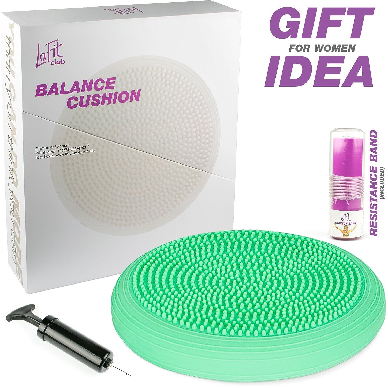 Cojín de equilibrio - Entrenador de equilibrio - Bomba de ...
