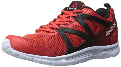 Reebok Men S Run Supreme 2 0 Mt Running Shoe Motor Red Black White