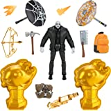 Fortnite Brutus (Shadow) Solo Mode Core Figure and 2 Mythic Goldfish Collectibles - 4 Inch Collectible Action Figure, Plus Ac