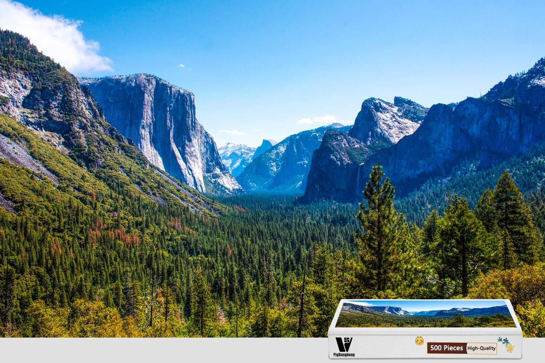 【10%OFF】 PigBangbang、20.6 B07F81ZWVJ X Park 15.1インチ、ステンドアートパズル 子供用 大人用 ジグソーグルー Valley 木製 - Park Yosemite Valley - 300ピース ジグソーパズル B07F81ZWVJ, 神戸町:edd7c839 --- 4x4.lt
