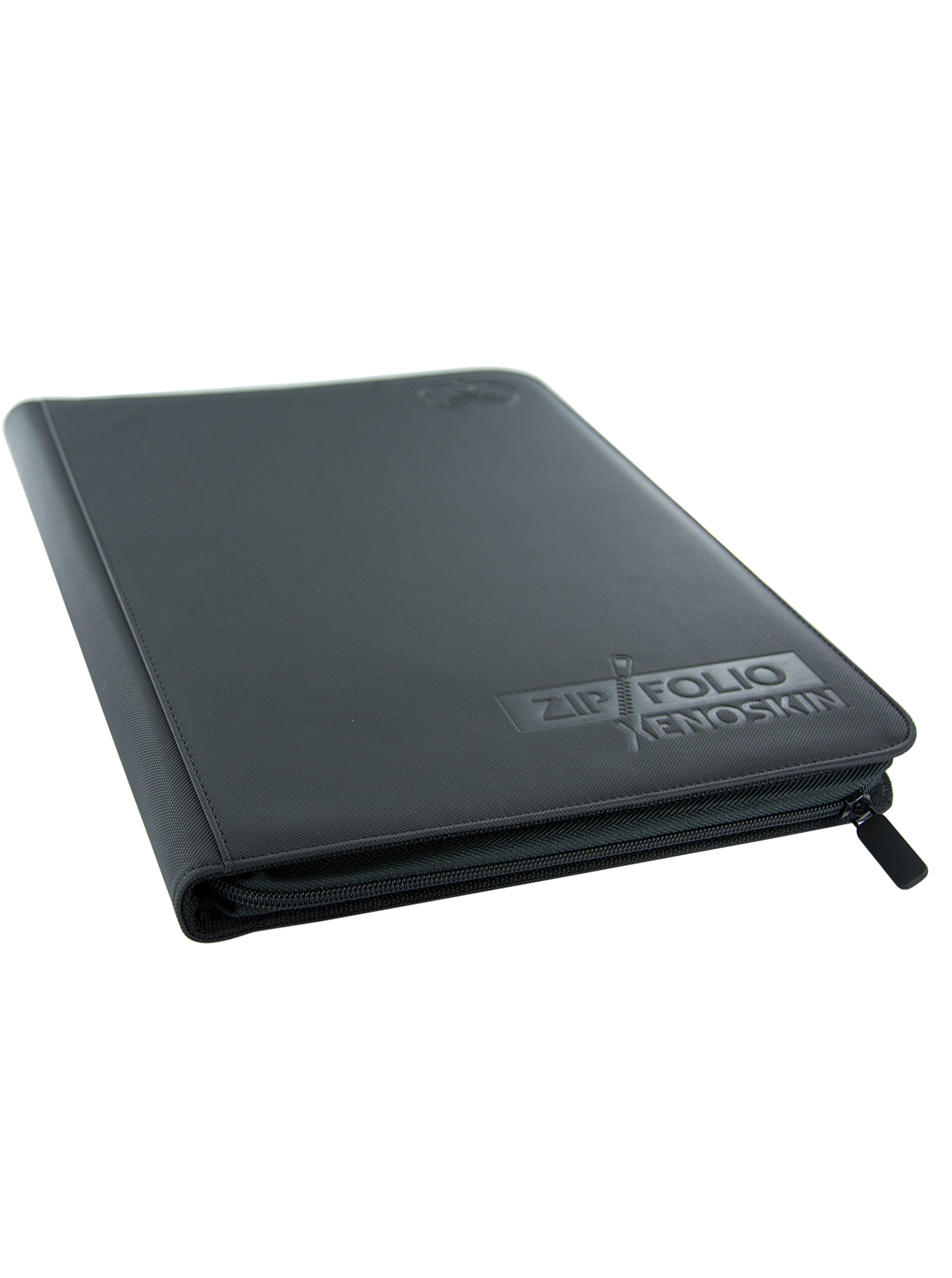 9 Pocket XenoSkin Zipfolio, Black