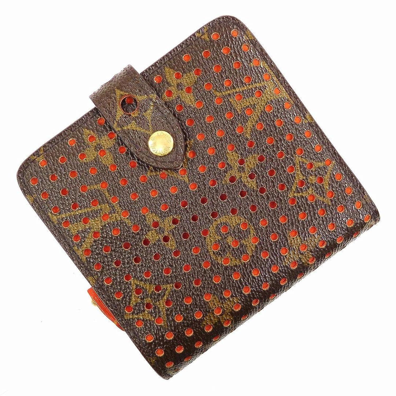 [ルイヴィトン] LOUIS VUITTON 二つ折り財布 モノグラム M95189 PVC×レザー X16964 中古 B07BF49JGH