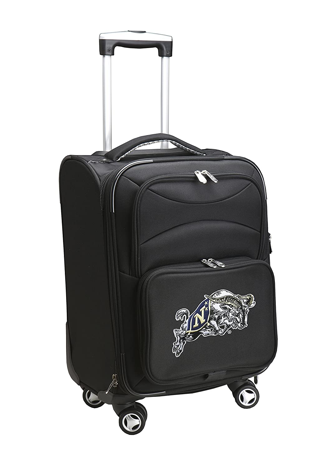 Black Denco NCAA Domestic Carry-On Spinner 20-Inch