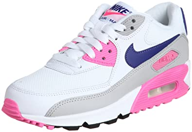 Nike Air Max 90 Essential 616730-104 Damen niedrig, Weiß ...