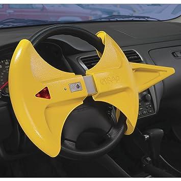 blockit Wrap Robo de vehículo Volante Candado con alarma ...