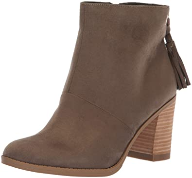 1a46a48470f Dr. Scholl's Shoes Women's Lewis Ankle Boot, Olive Microfiber, ...