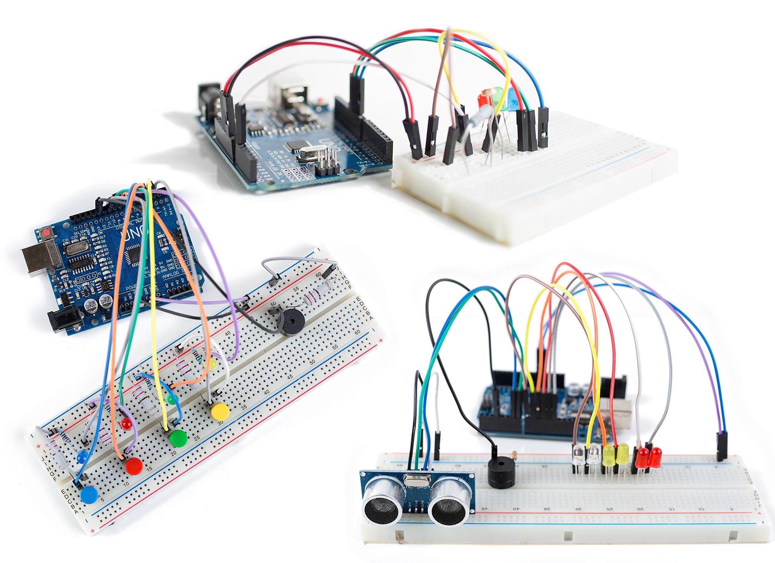 Arduino Uno R3 Kit CREATION CRATE (7RB2VXDD)
