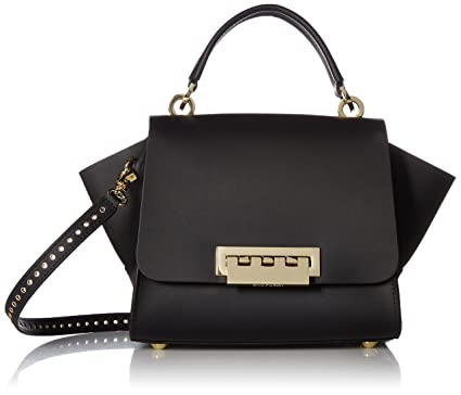 c43edd1e9f6a Amazon.com  ZAC Zac Posen Eartha Top Handle Crossbody-Black core  Clothing