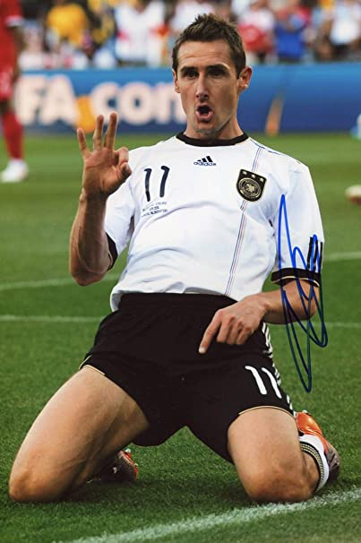 Miroslav Klose S First Training Session As